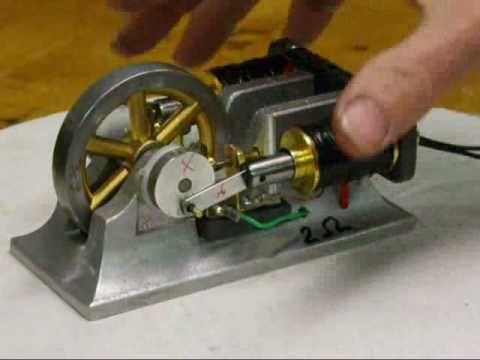 DOUBLE SOLENOID Electric ENGINE Motor Tubalcain R info
