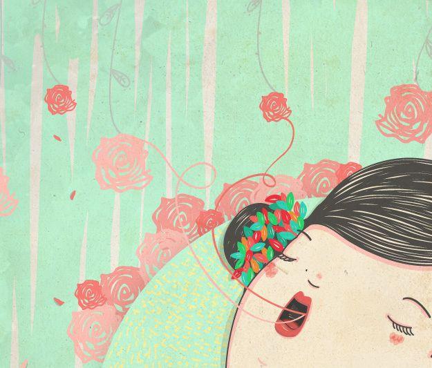 Queriendo dibujar a Natalia Lafourcade