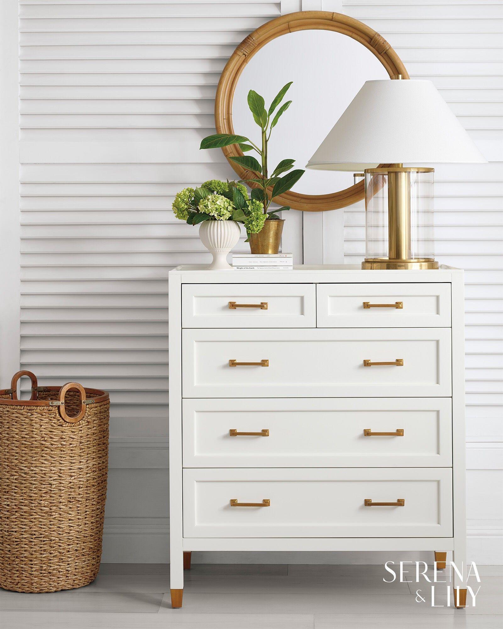 Seagrass Basket Dresser Decor Bedroom Dresser Decor Tall Dresser Decor [ 2000 x 1600 Pixel ]