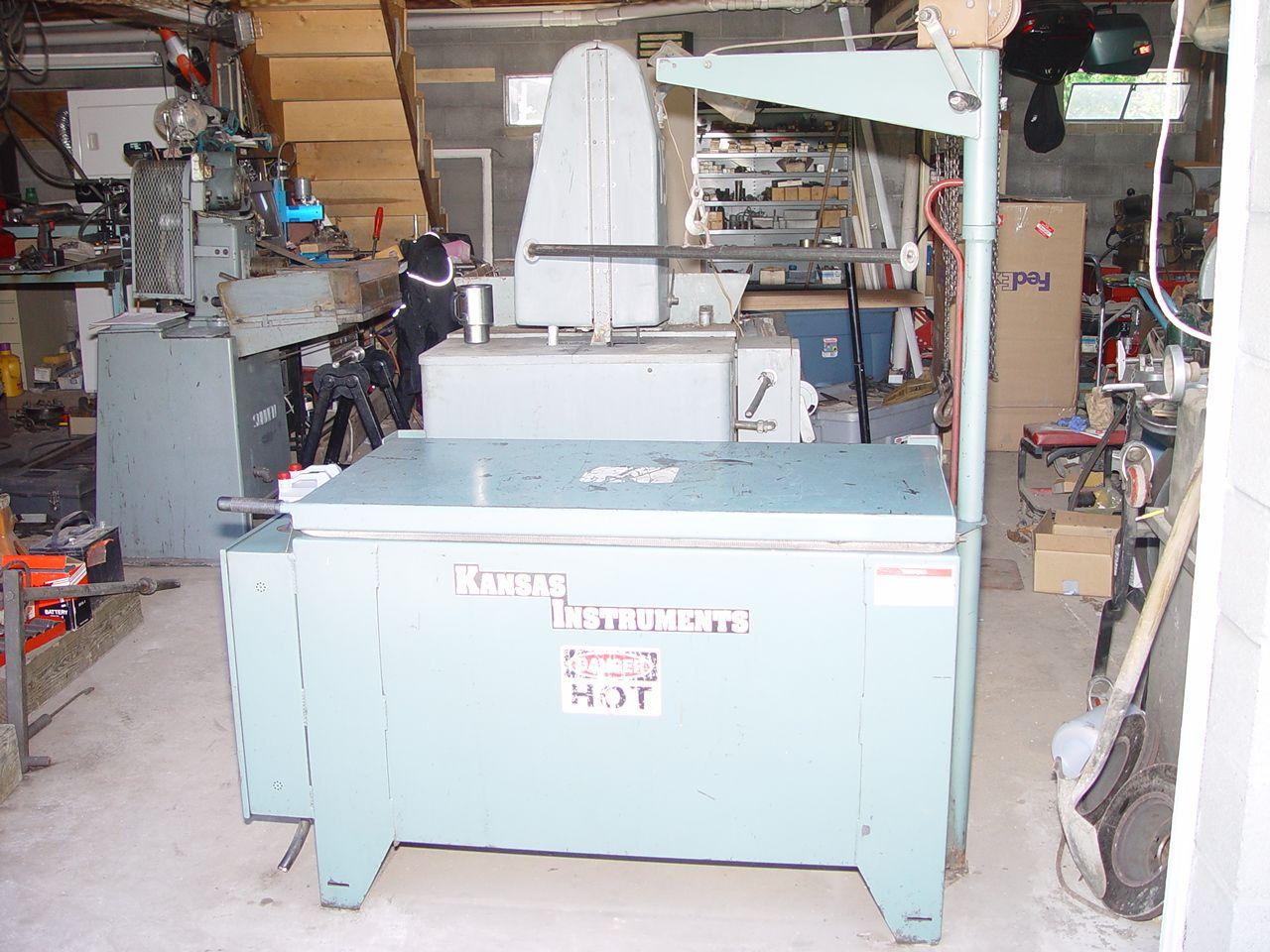 Kansas Instruments HO800 Oven | Used Engine Rebuilding Equipment
