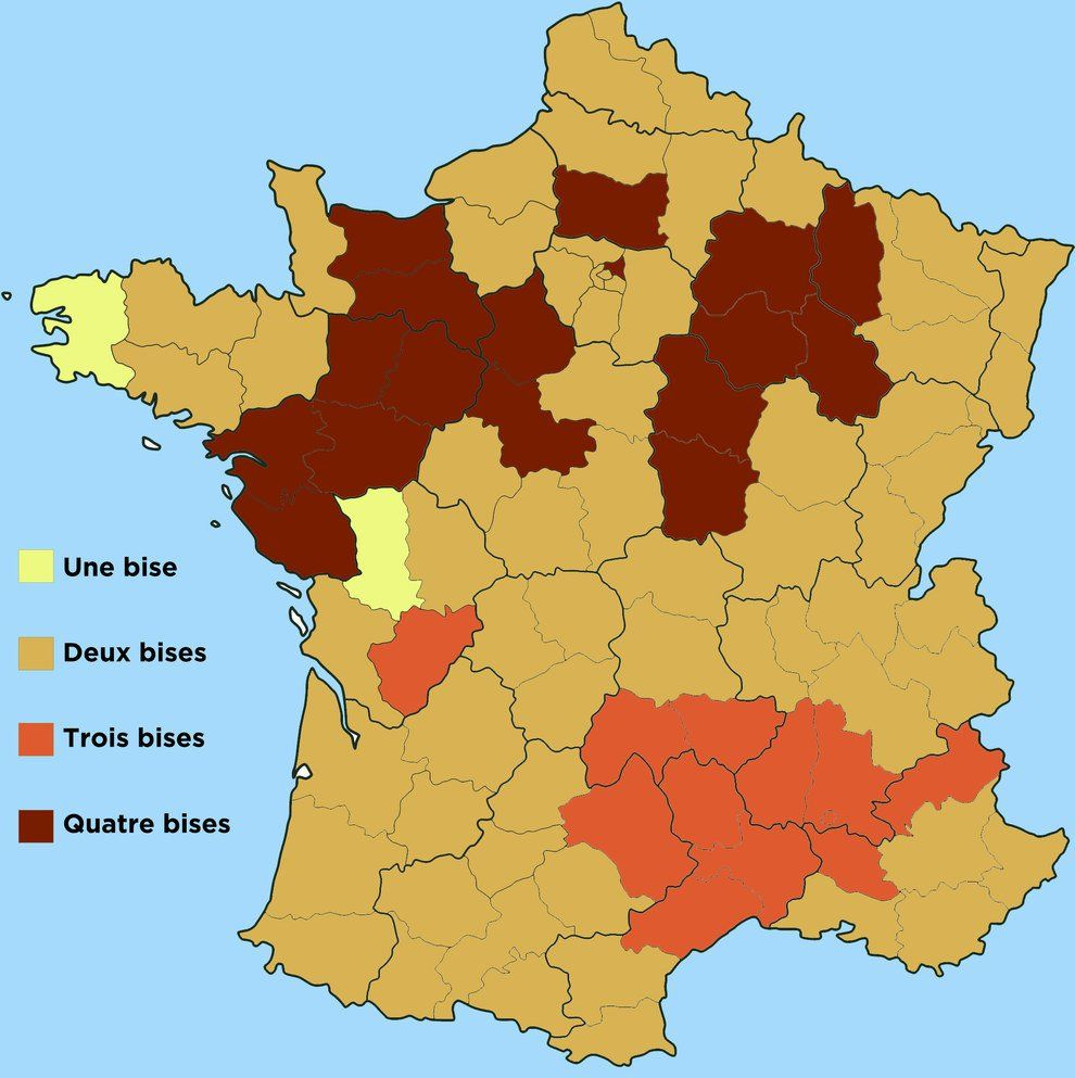 Map Of France Kisses.Map Of Kissing Etiquette In France Louis Theroux Louistheroux