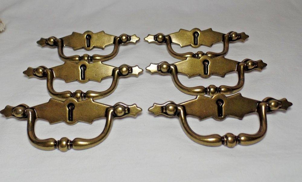 modern antiqued brass drawer pulls ajax 314 lot of 7 ajax antique