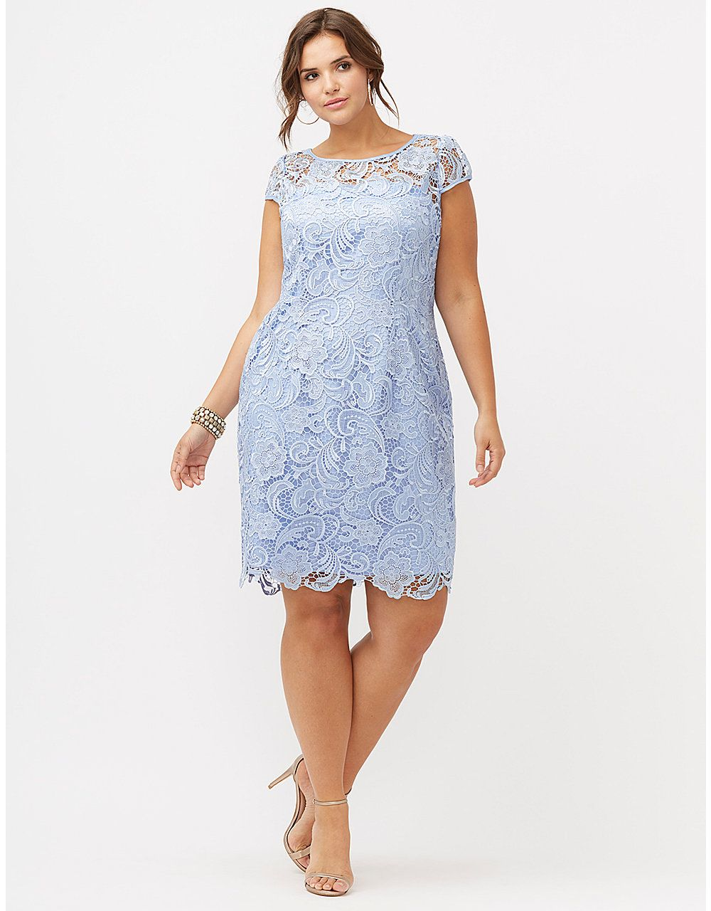 Lace Formal Dress by Adrianna Papell | Lane Bryant | ~CURVES ...
