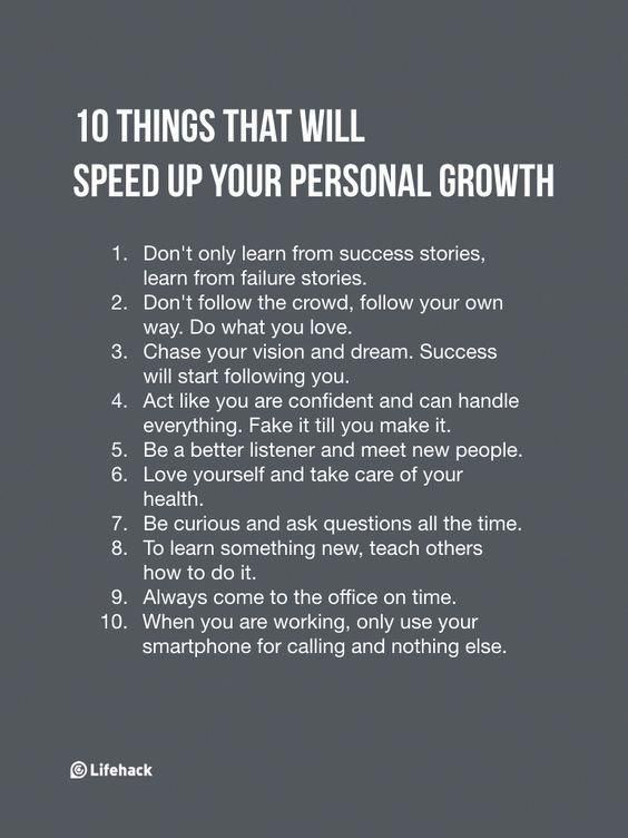 10 Tips for Personal Growth