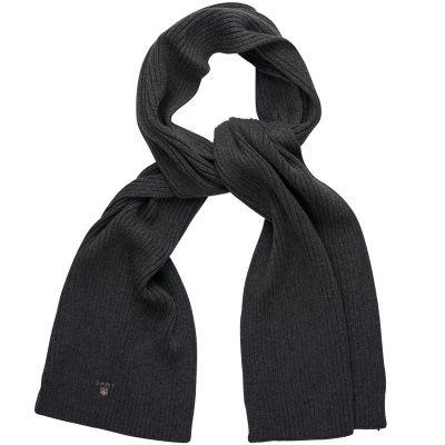 Cotton Rib Knit Tørklæde