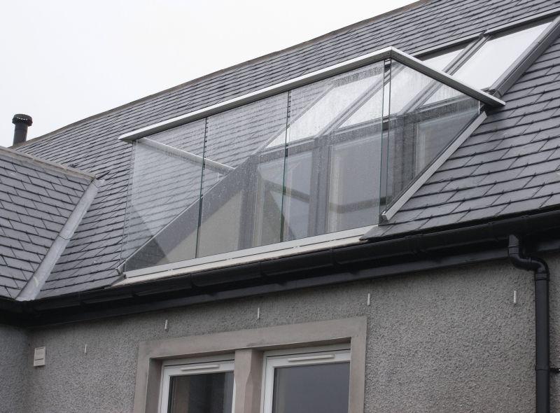 attic conversion ideas edinburgh - loft balcony decoração & casas de sonho