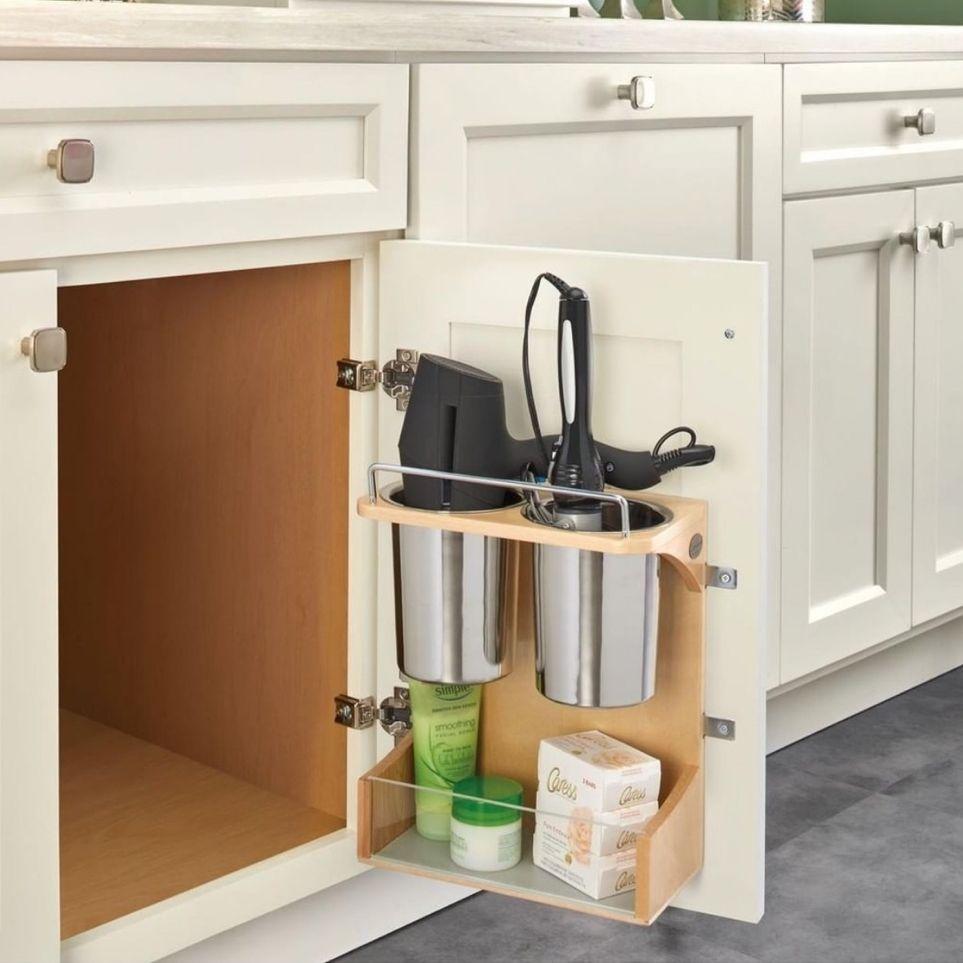 Hair Tool Storage in 2020 | Appliances storage, Rev a ...