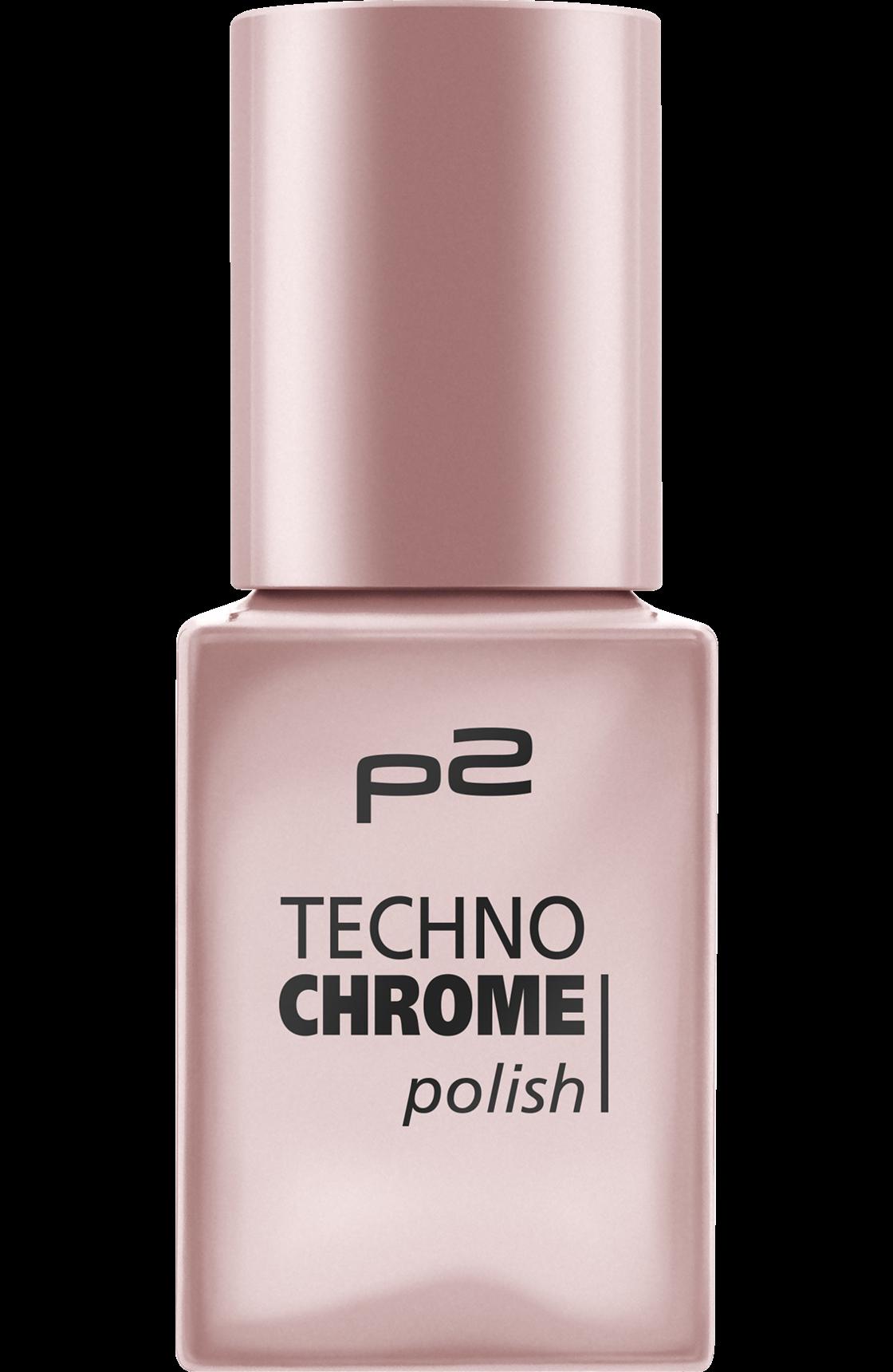 Nagellack techno chrome polish frozen rose 050, 10 ml | Nagelschere ...