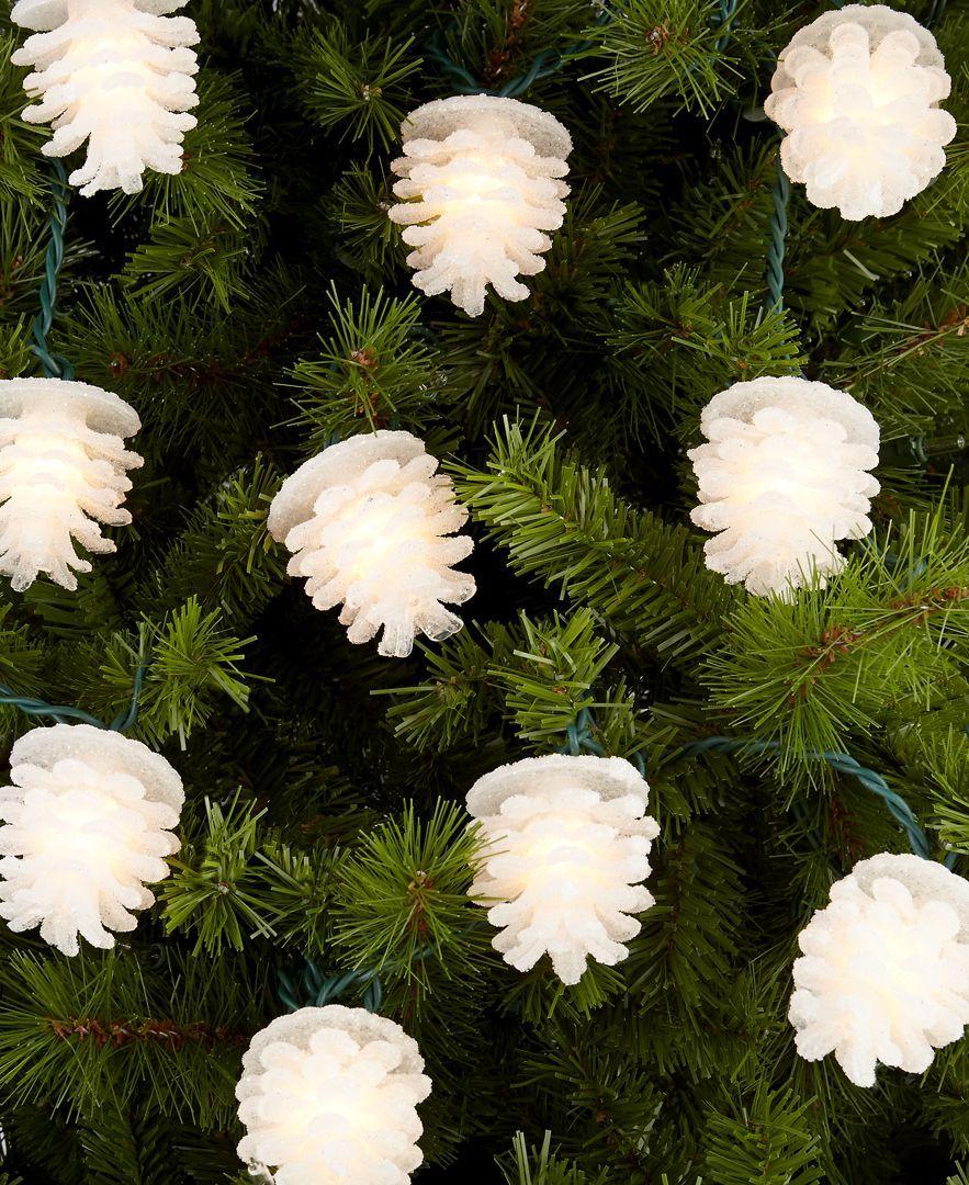 Kurt Adler Pine Cone Christmas Lights | Christmas | Pinterest ...
