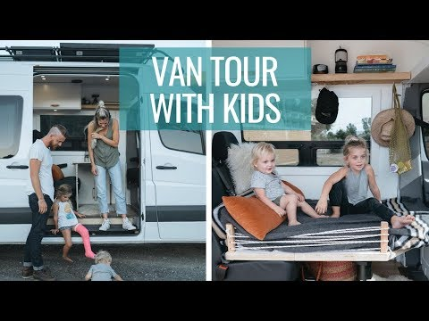 Photo of VAN LIFE TOUR: Family of Four DIY Sprinter Van Conversion | Van Life with Kids