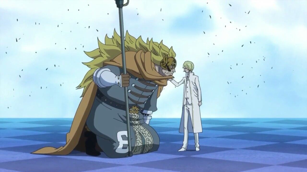Ep  840)cutting the father-son relationship! sanji and judge