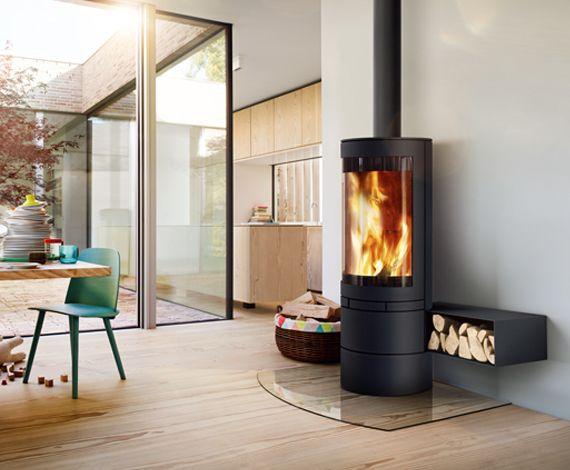 Kaminofen elements-rund - skantherm - Wir sind Feuer und Flamme - design kaminofen gemauert bilder
