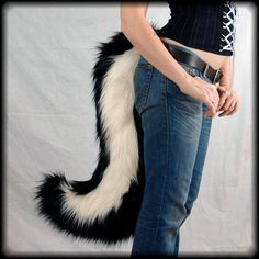 Diy Skunk Ears And Tail Google Search Trunk R Treat Pinterest
