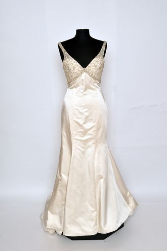 Shop Bridals by Lori Lazaro LZ3359 couture wedding gown sale for ...