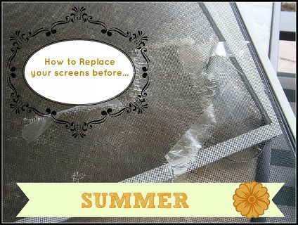 how to re screen your screens, home maintenance repairs, how to, windows