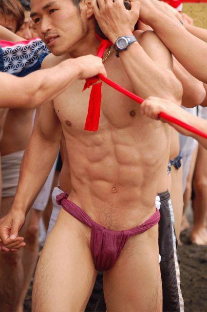 Fundoshi japanese guy
