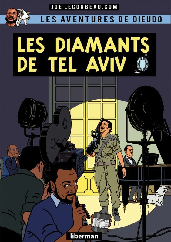 Les Aventures de Tintin - Album Imaginaire - Les Diamants de Tel Aviv