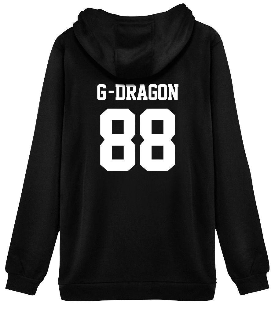 KPOP Bigbang Sweater Unisex GD MADE FULL 10th Anniversary Sweatershirt Hoodie