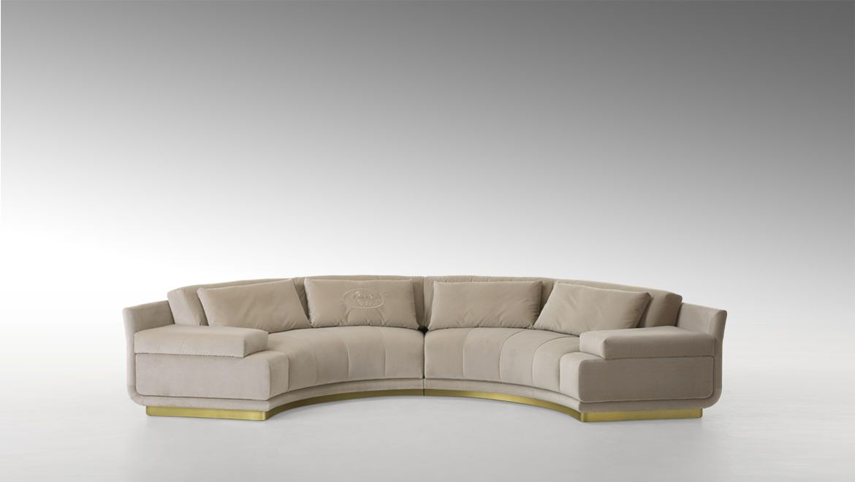 Artu Round Sectional Sofa Sectional Sofa Round Sofa Modular Sofa