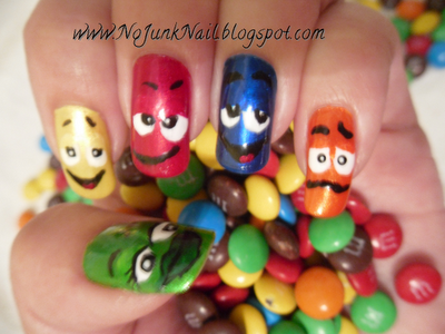 M&M Nails.....the most visited on my blog!