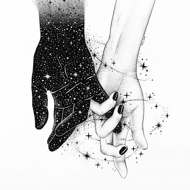 We hold all of the world between your heart and mine.  When we kiss stars twinkle in your eyes.