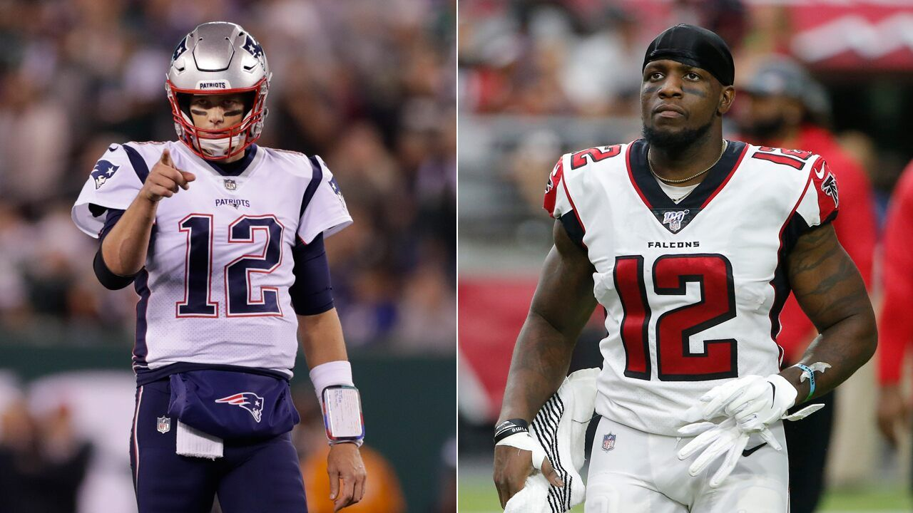 New England Patriots Tom Brady Offers Mohamed Sanu No 12 Jersey After Trade Nah I M Good With Images New England Patriots Tom Brady Mohamed Sanu