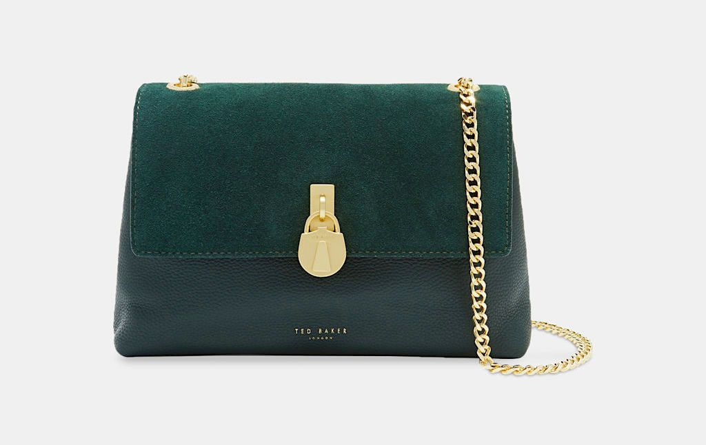 Ted Baker green handbag Wheretowear.london | Green handbag