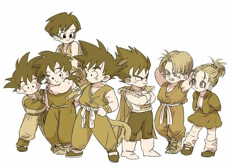 Dragon Ball Hentai Bulma Pan Chichi Goku Trunks Vegeta