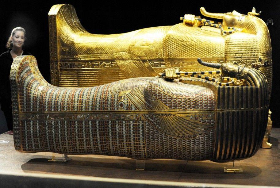 Tutanchamun Pharao Tal der Könige Ägypten Grabmal ...