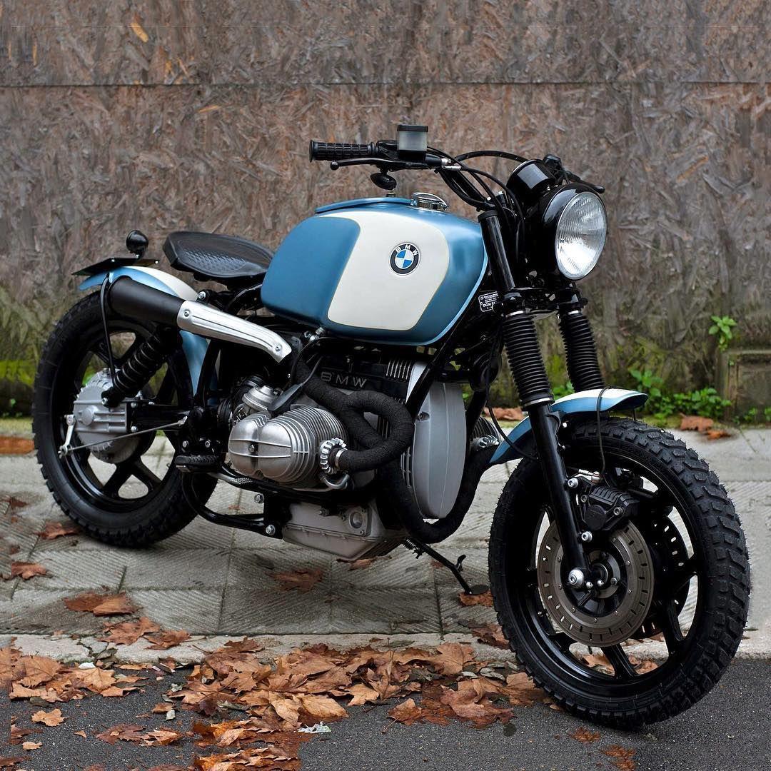 Spandau A BMW R80 RT Scrambler Leaf Blower Built By Italys FMW Motorcycles Dropmoto Bmw Builtnotbought Vintagemotorcycle Boxer