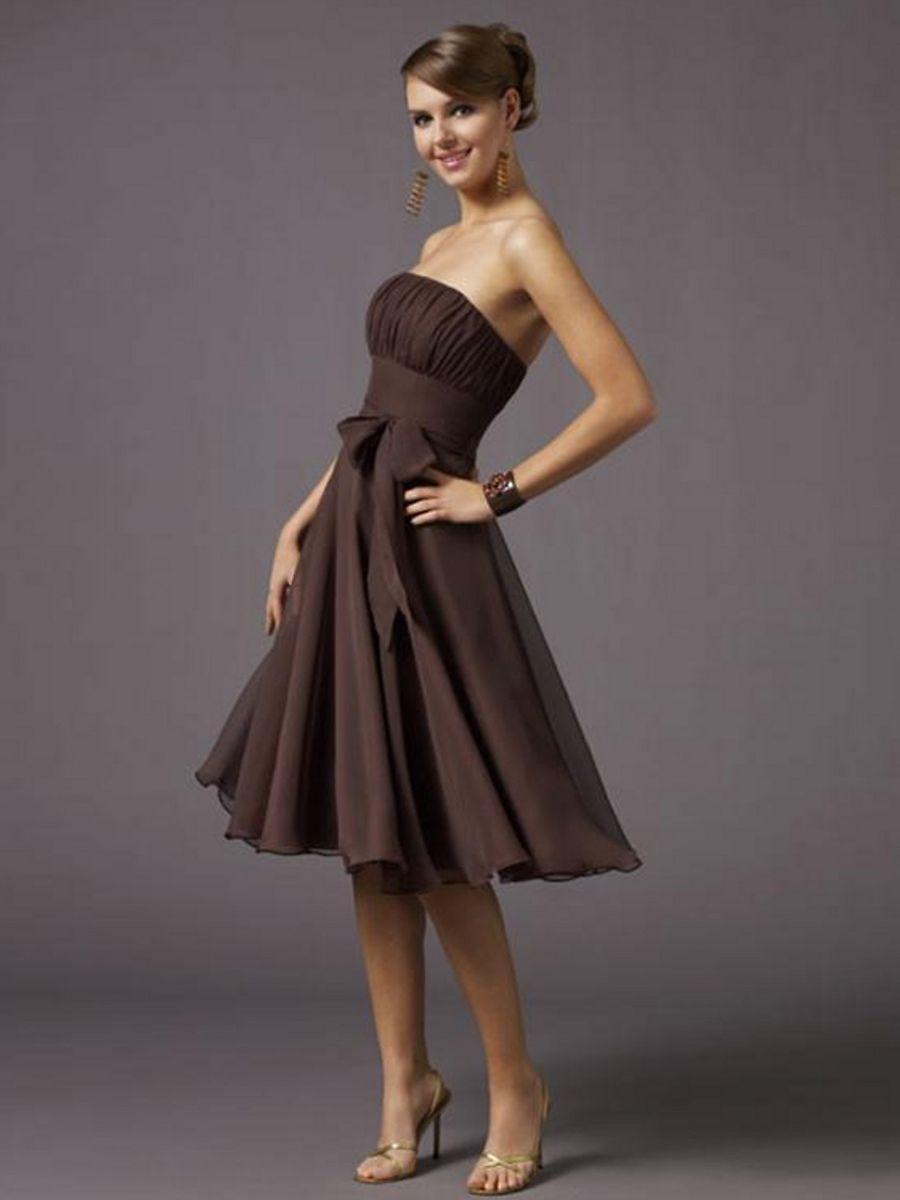Braunes Kleid | Mode, Traumkleider... | Pinterest | Braunes kleid ...