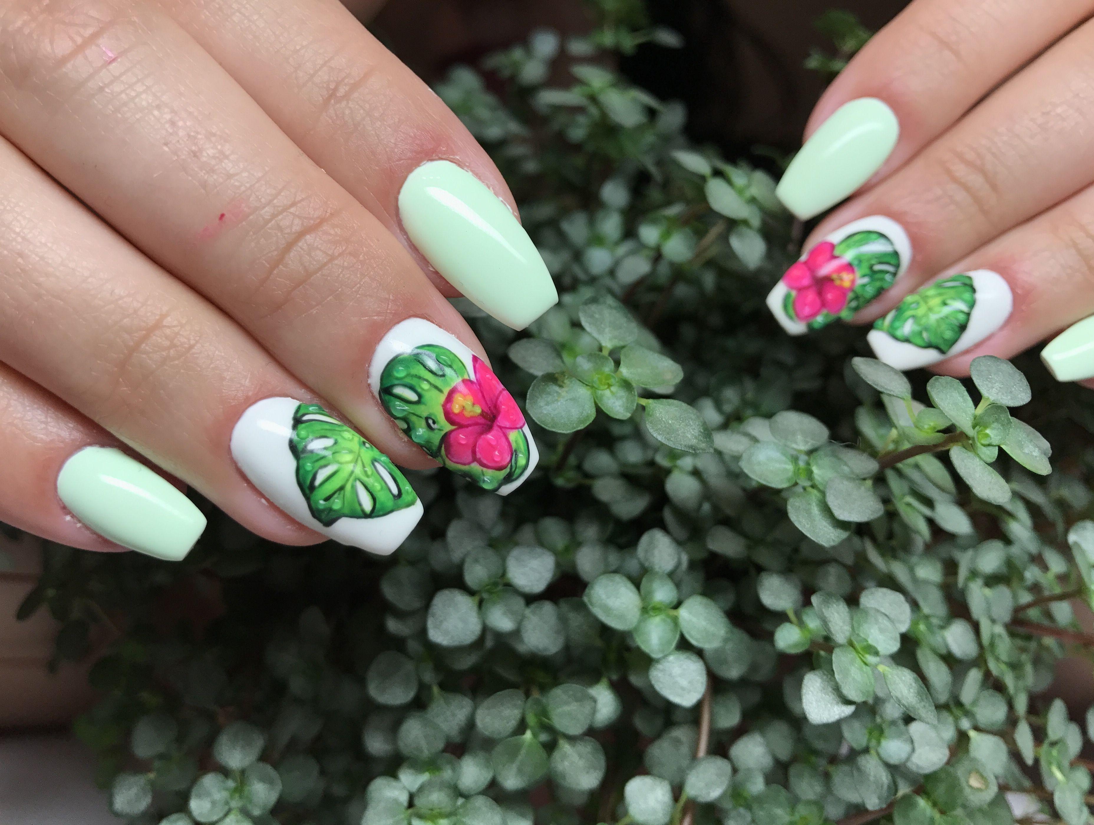 Exotic Nails Nail Art Nail Design Pinterest Exotic Nails And