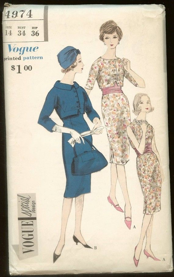 vintage sewing patterns for sale | Just neat! | Pinterest | Patrones ...