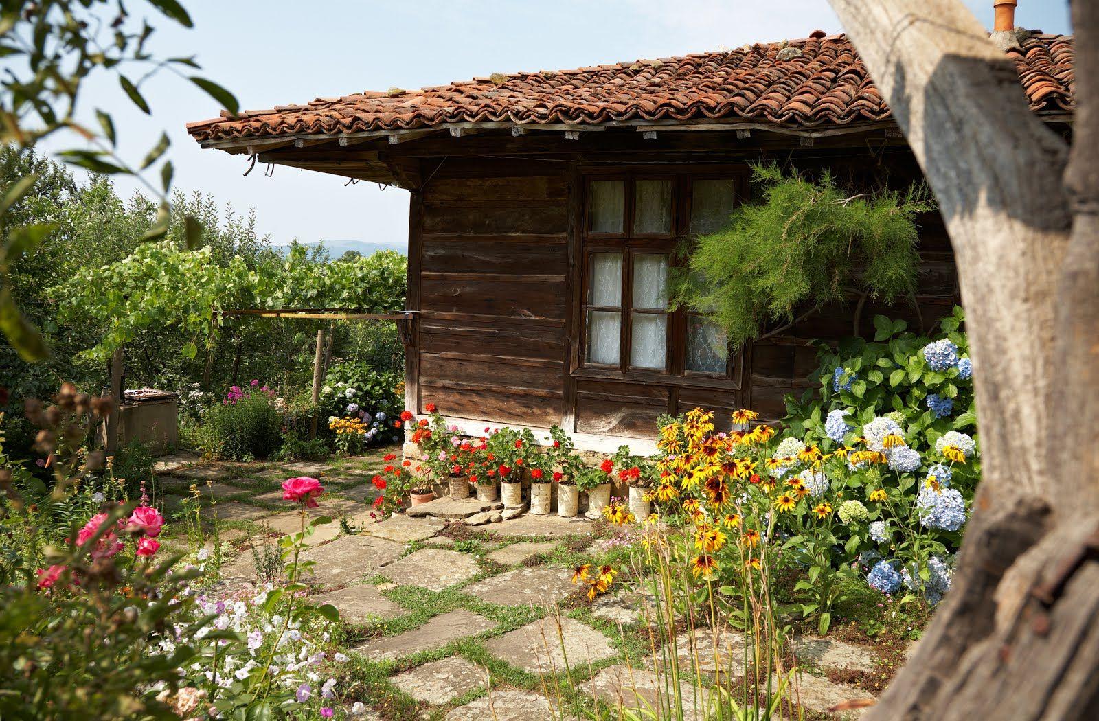 Imagenes de jardines de casas flores y jardines for Jardines italianos