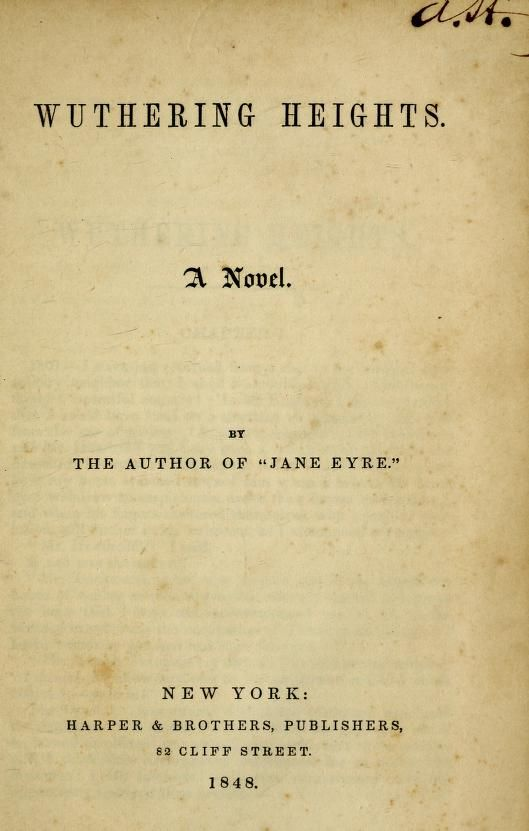 Wuthering Heights A Novel Wuthering Heights Novels Eyre