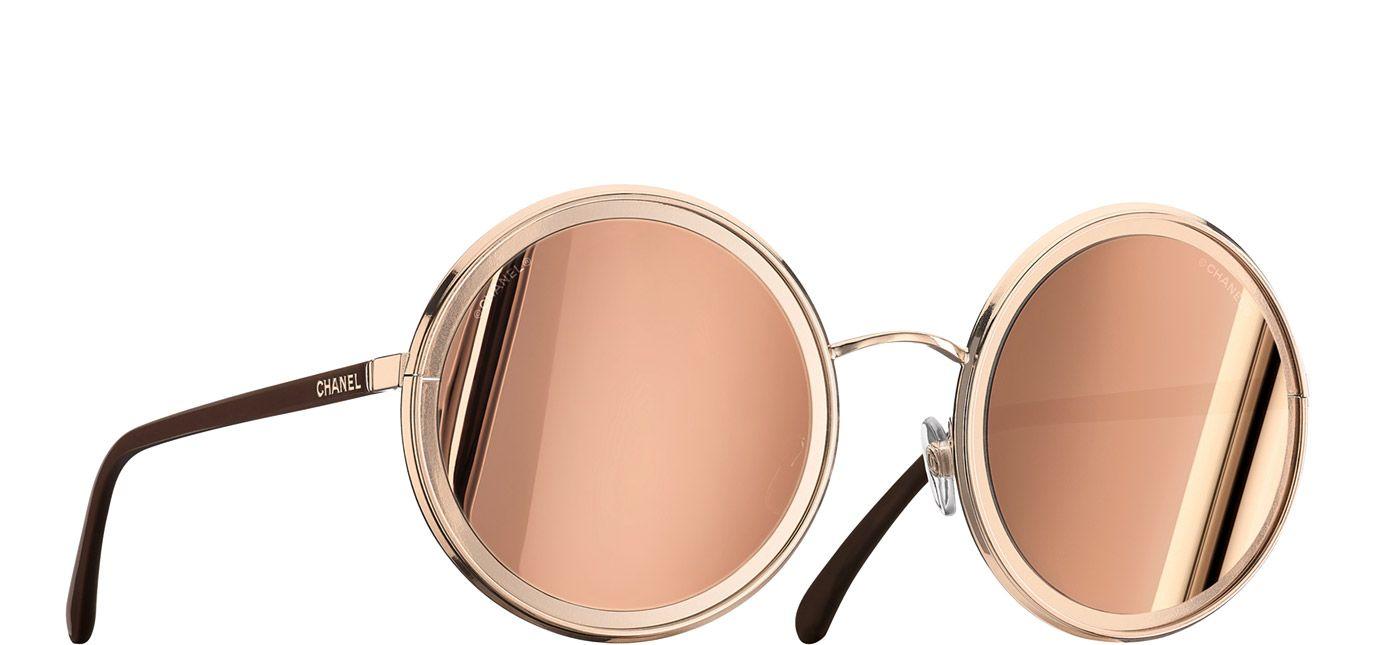 5cb92f3d0722 Round Summer Sunglasses - Chanel