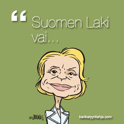 Kumpaa sinä tottelet?? #karikatyyri #kristillisdemokraatit #päiviräsänen