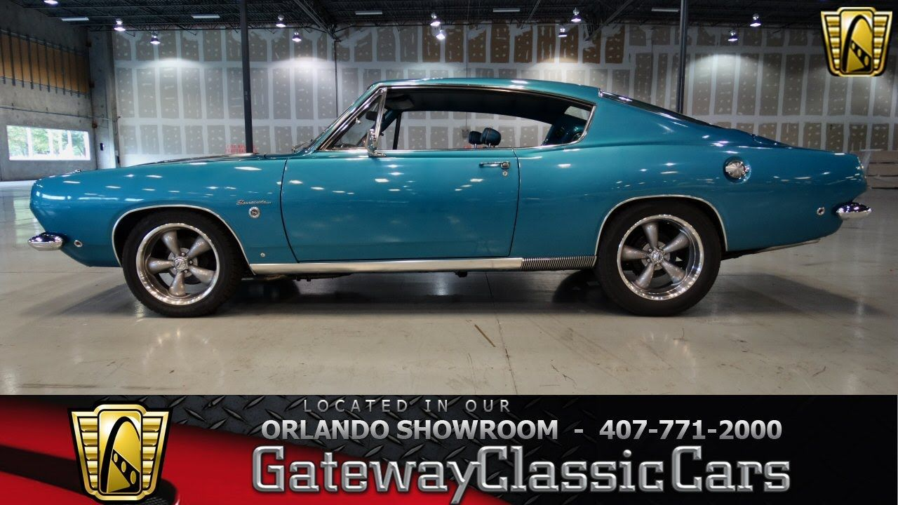 1968 Plymouth Barracuda Gateway Classic Cars Orlando #168 | Wheels ...