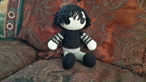 Amigurumi Male Doll Pattern : Adorable gothic male amigurumi doll amigurumi doll amigurumi
