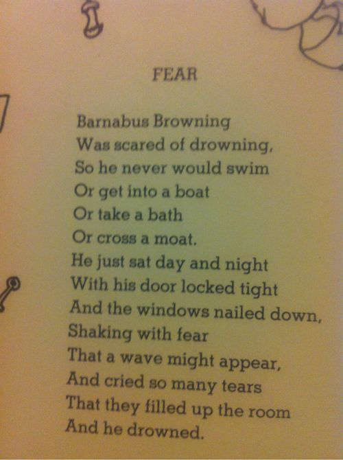 Poems About Fear 1