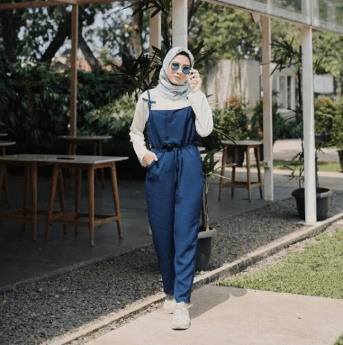 Baju Jumpsuit Hijab