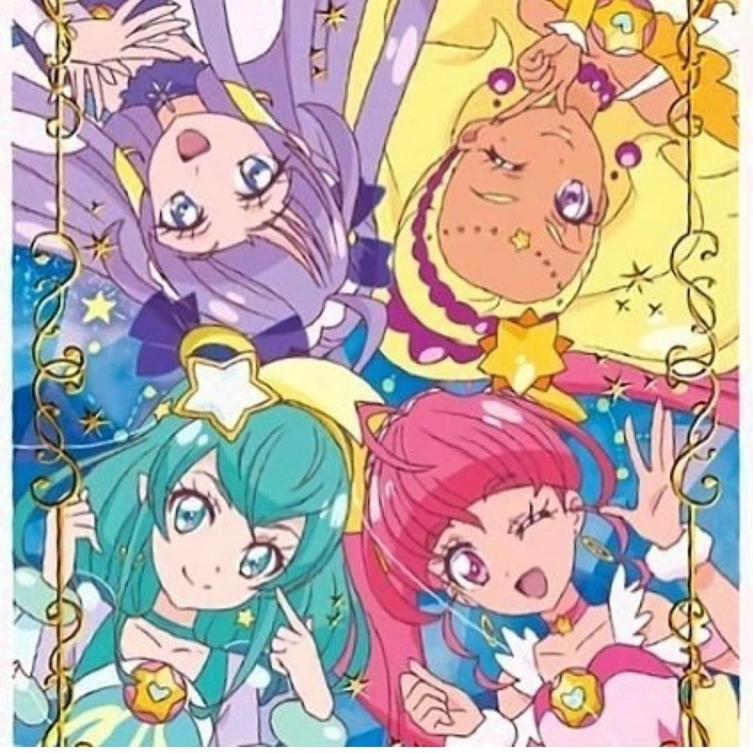 Star Twinkle Precure Pretty cure, Magical girl anime, Anime