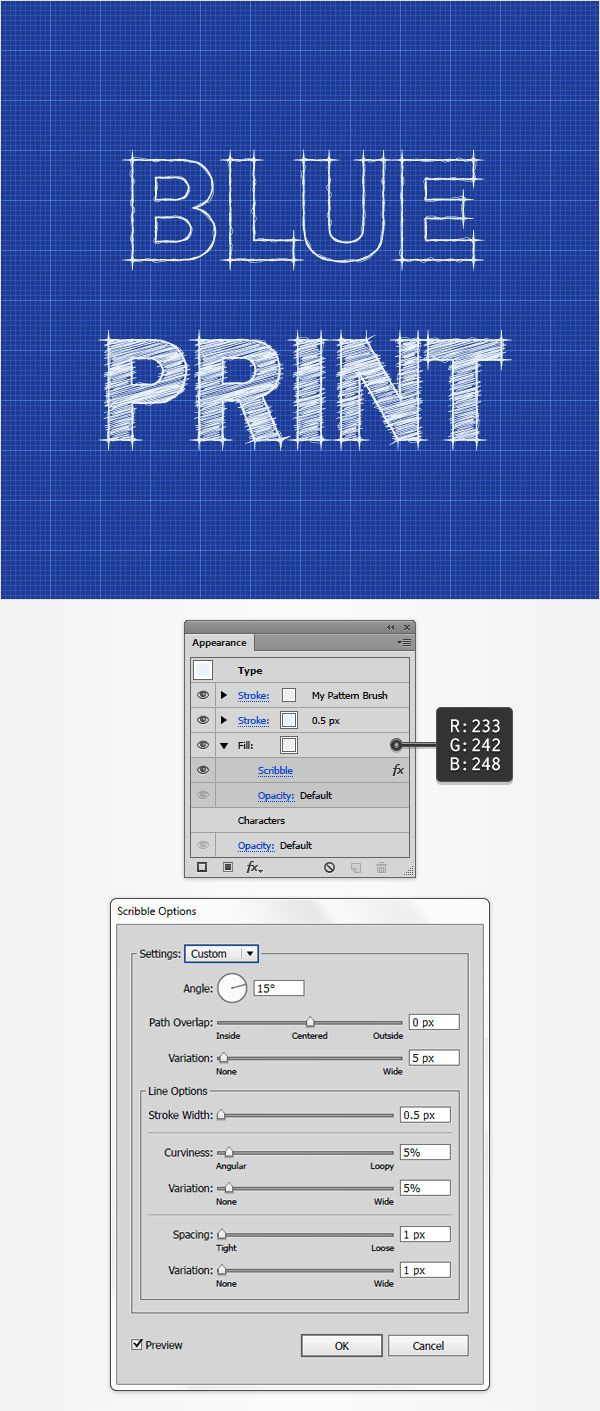 Design how to create a blueprint text effect in adobe illustrator design how to create a blueprint text effect in adobe illustrator malvernweather Gallery