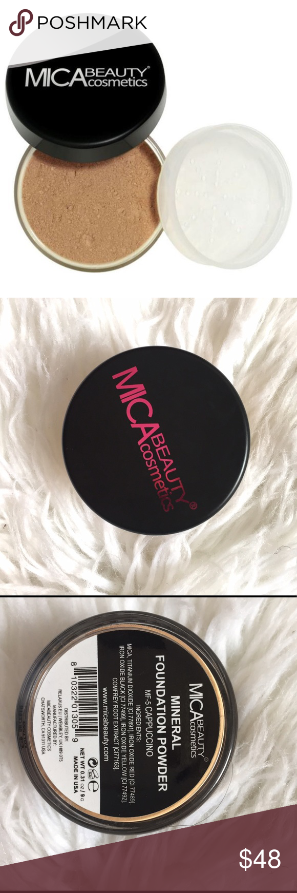 Mineral Foundation Powder Retails for 64.95. Brand new