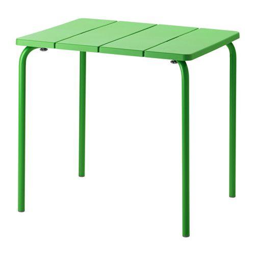 ikea v dd camping table ext rieur vert table r sistante et facile entretenir car. Black Bedroom Furniture Sets. Home Design Ideas
