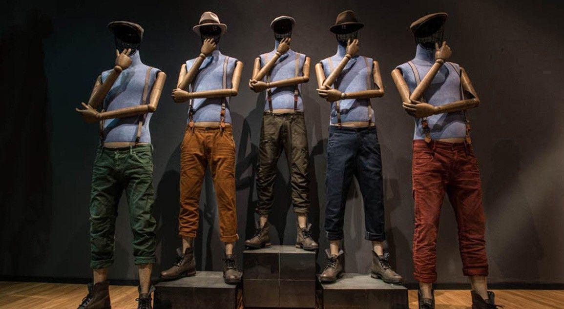 mannequins_jonas vitrine en répétition
