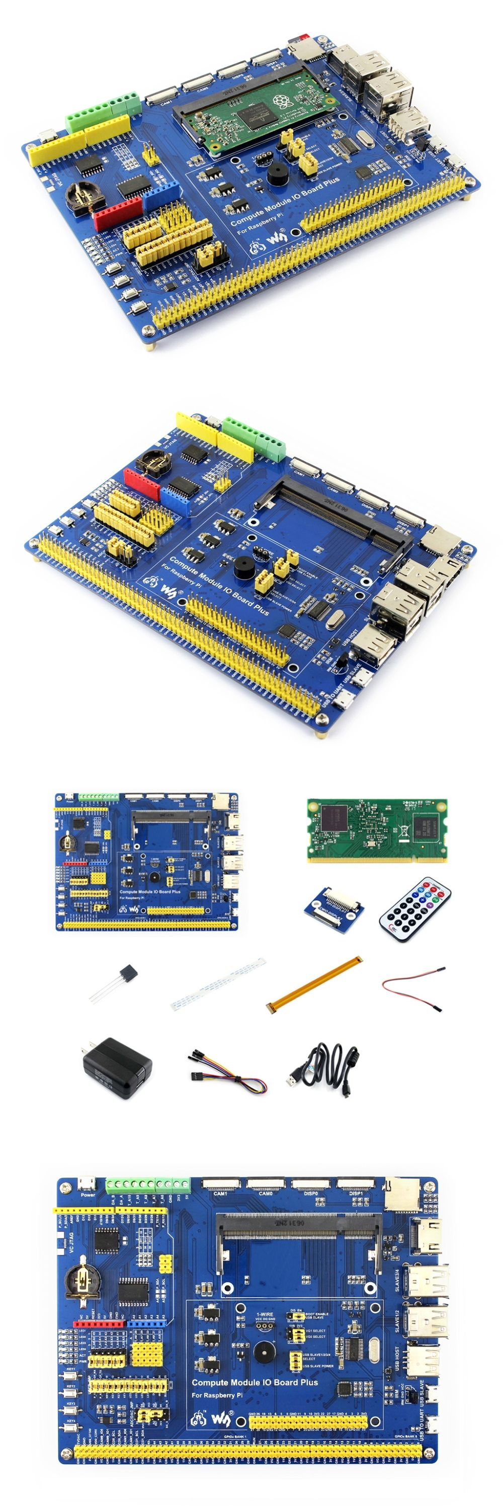 Superb Raspberry Pi Compute Module 3 Development Kit Type A With Compute Wiring Digital Resources Lavecompassionincorg