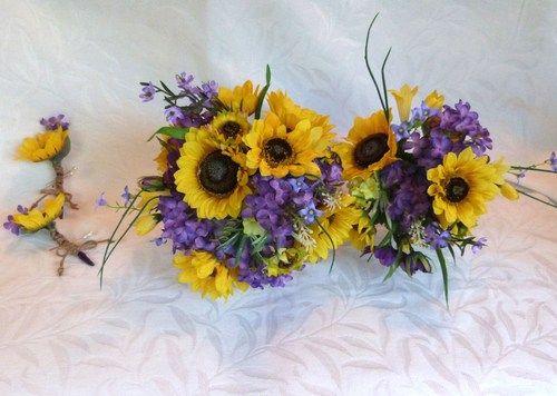 sunflower fall wedding bouquet google search