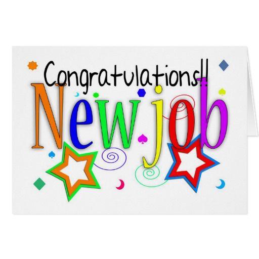 Congratulations new job greeting card new job m4hsunfo