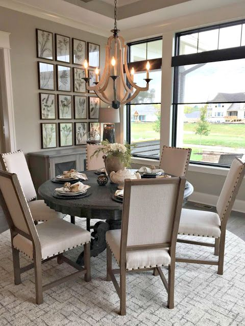 Let S Walk Through Some Gorgeous Houses Round Dining Room Table